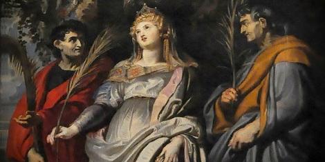 Rome Chrétienne et ses monuments - EUGENE DE LA GOURNERIE - 1867 May-12-nereus-and-achilleus-public-domain
