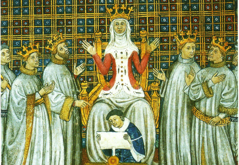 St Clotilde and Her Sons
