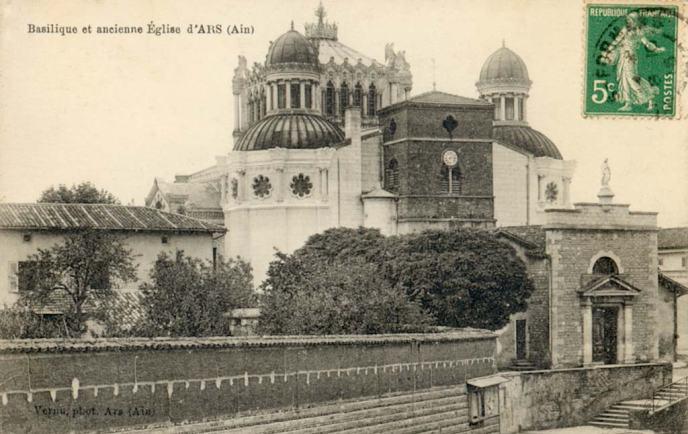 Ars_Basilica_Vue_historique
