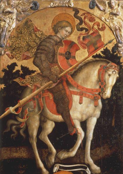 M.Giambono, Hl.Chrysogonus - M.Giambono / St.Chrysogonus / Painting -